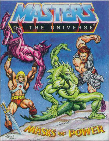 Masters of the Universe (1983) 3.2-B by Mattel