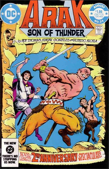 Arak Son of Thunder 24-A by DC