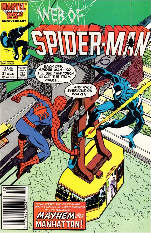 Web of Spider-Man (1985) 21-A by Marvel