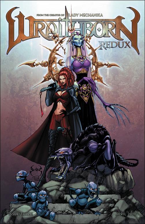 Wraithborn Redux 3-B