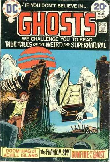 Ghosts (1971) 24-A by DC