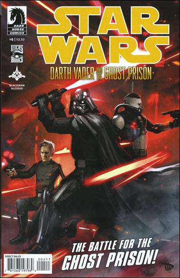 Star Wars: Darth Vader and the Ghost Prison 4-A by Dark Horse