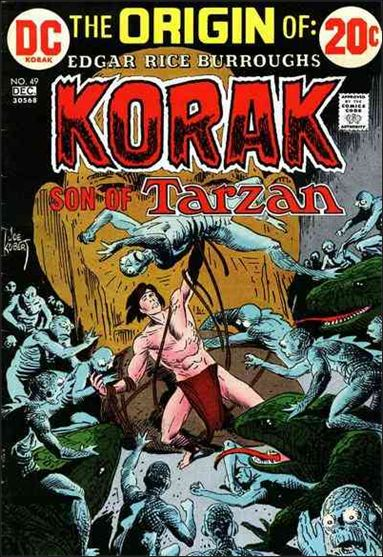 Korak, Son of Tarzan 49-A by DC