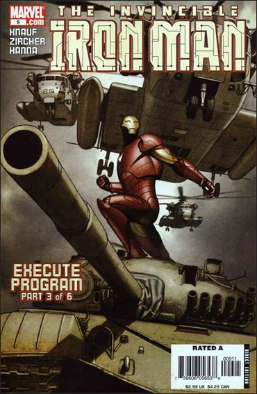 Invincible Iron Man (2005) 9-A by Marvel