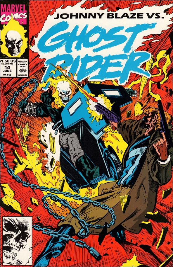 Ghost Rider (1990) 14-A by Marvel