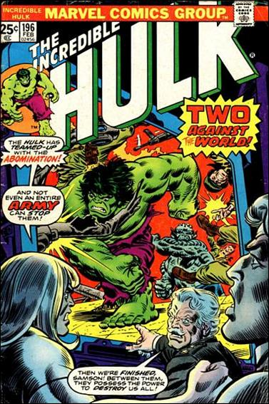 Incredible Hulk (1968) 196-A by Marvel