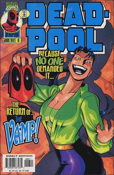 Deadpool (1997) 6-A by Marvel