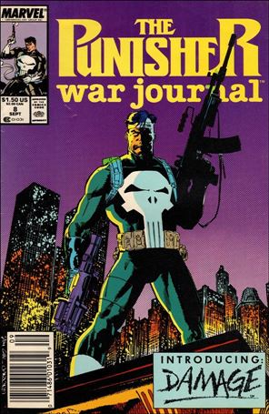 Punisher War Journal (1988) 8-A