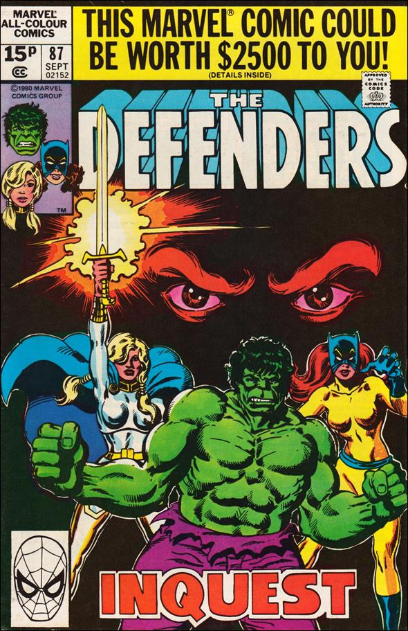 Defenders (1972) 87-B by Marvel