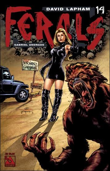 Ferals 14-A by Avatar Press