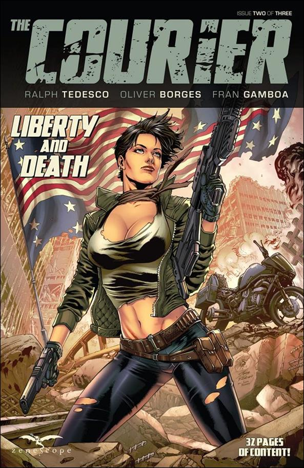 Courier: Liberty and Death 2-A by Zenescope Entertainment