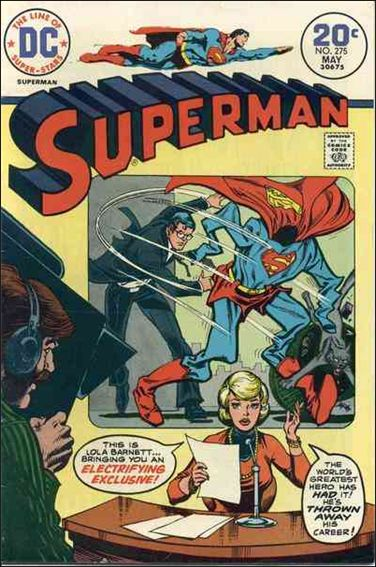 Superman (1939) 275-A by DC