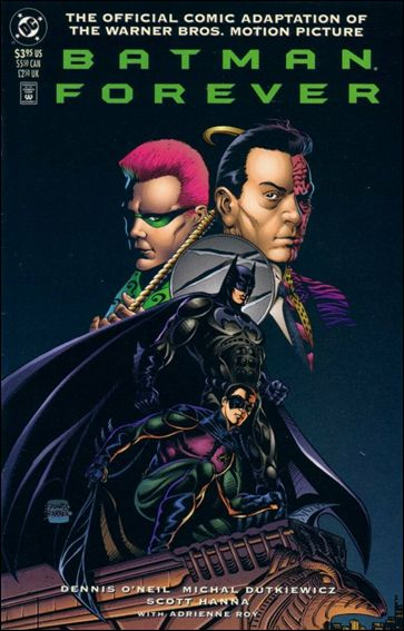 Batman Forever: The Official Comic Adaptation of the Warner Bros. Motion Picture 1-A by DC