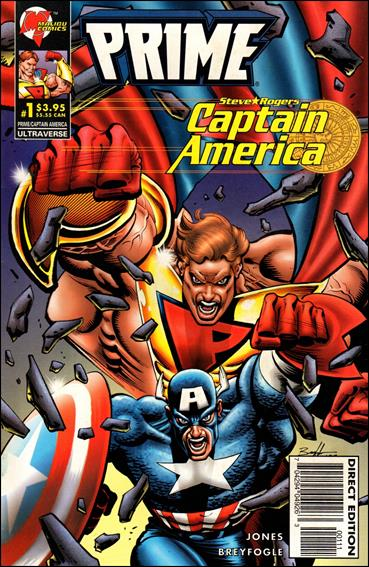 Prime/Captain America 1-A by Malibu