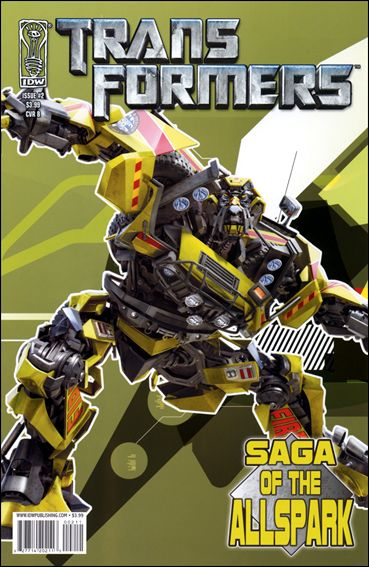 Transformers: Saga of the Allspark 2-B by IDW