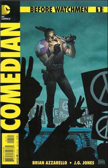 Before Watchmen: Comedian 1-D by DC