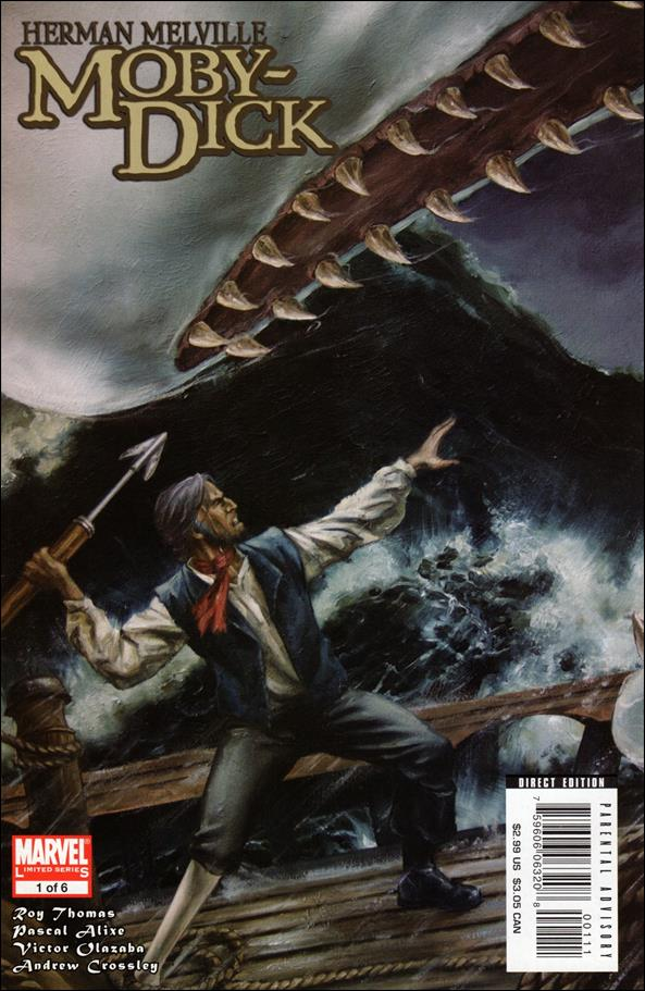 Marvel Illustrated: Moby Dick 1-A by Marvel