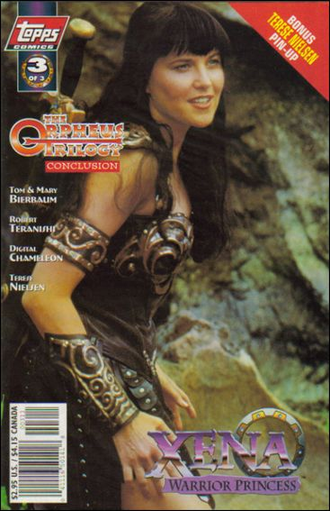 Xena: Warrior Princess: The Orpheus Trilogy 3-A by Topps