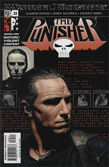 Punisher (2001) 35-A by Marvel