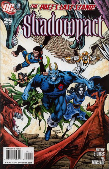 Shadowpact 25-A by DC