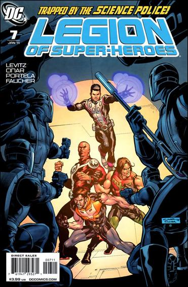 Legion of Super-Heroes (2010) 7-A by DC