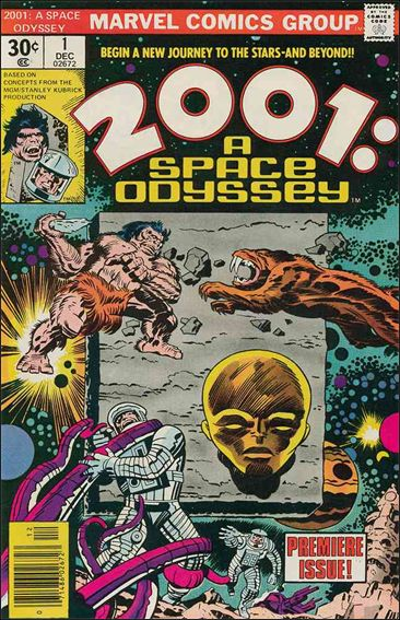 2001: A Space Odyssey 1-A by Marvel