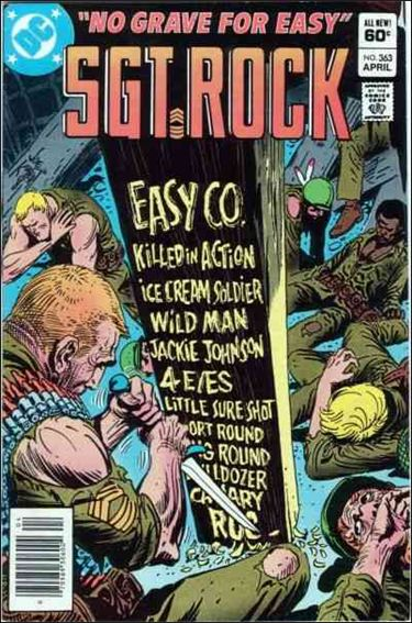 Sgt. Rock (1977) 363-A by DC