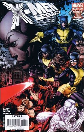 X-Men Legacy (2008) 208-A