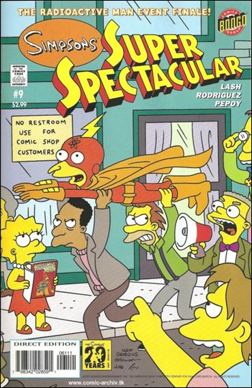 Bongo Comics Presents Simpsons Super Spectacular 9-A by Bongo
