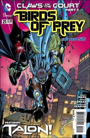 Birds of Prey (2011) 21-A
