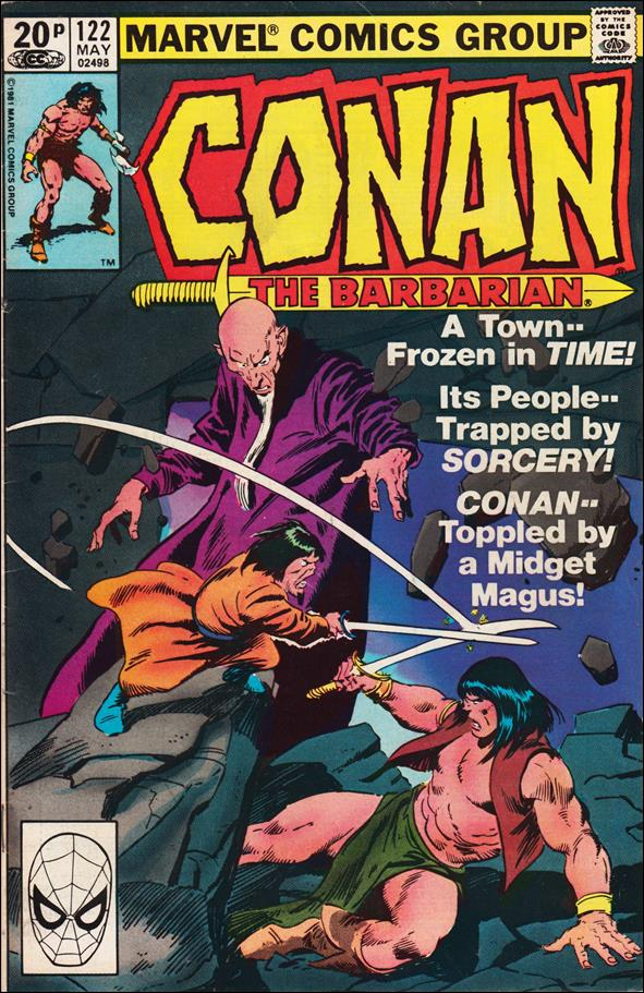 Conan the Barbarian (1970) 122-B by Marvel