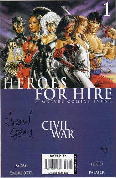 Heroes for Hire (2006) 1-C by Marvel
