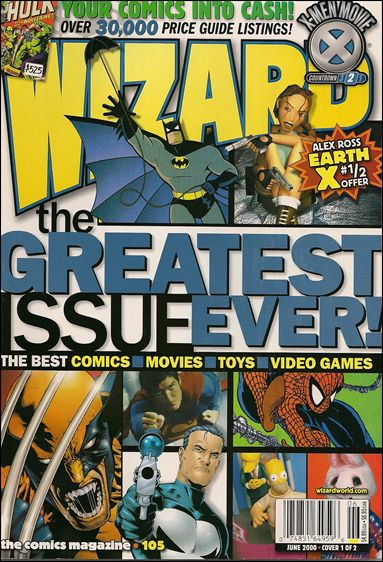 Wizard: The Comics Magazine 105-A by Wizard Press