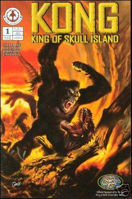 Kong: King of Skull Island 1-B by Markosia