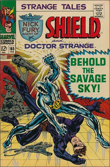 Strange Tales (1951) 165-A by Marvel