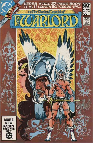 Warlord (1976) 50-A by DC
