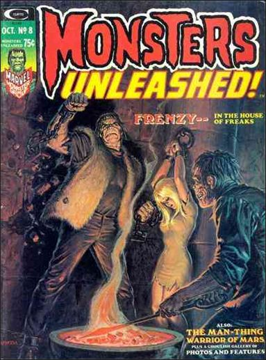 Monsters Unleashed 8-A by Marvel