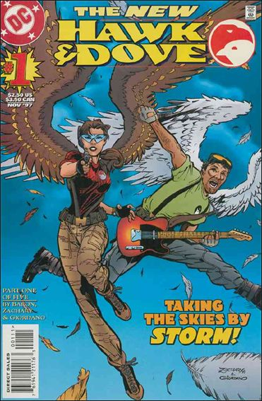 Hawk and Dove (1997) 1-A by DC