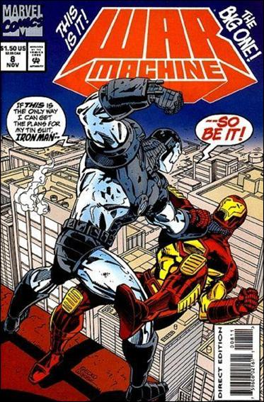 War Machine (1994) 8-A by Marvel
