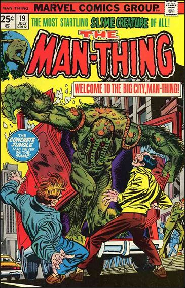 Man-Thing (1974) 19-A by Marvel