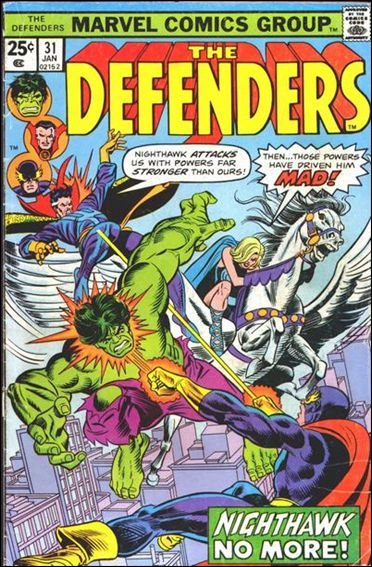 Defenders (1972) 31-A by Marvel