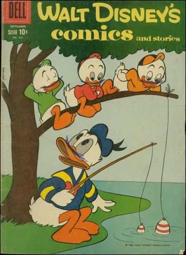 Walt Disney's Comics and Stories (1940) 228-A by Dell