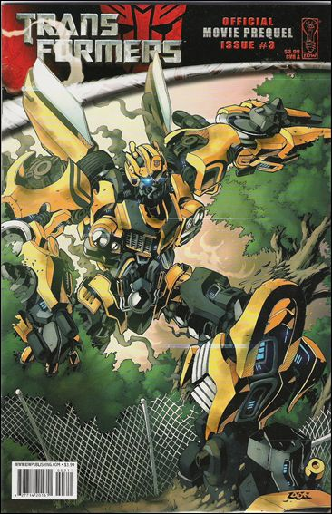 Transformers: Movie Prequel 3-A by IDW