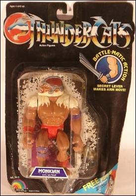 Thundercats Live Action on Thundercats Monkian  Jan 1985 Action Figure By Ljn