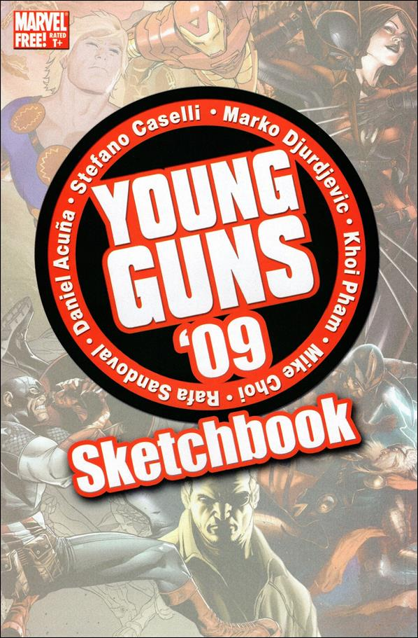 Young Guns Sketchbook 2009 nn-A by Marvel