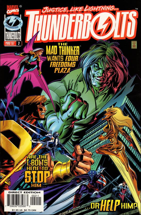Thunderbolts (1997) 2-A by Marvel