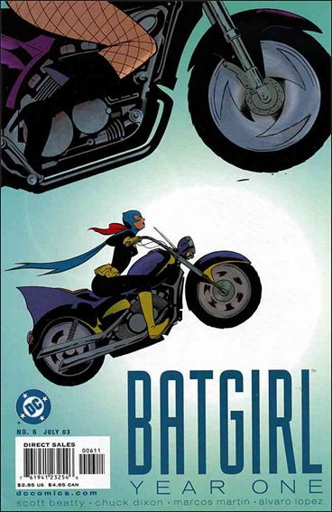 Batgirl Year One 6-A by DC