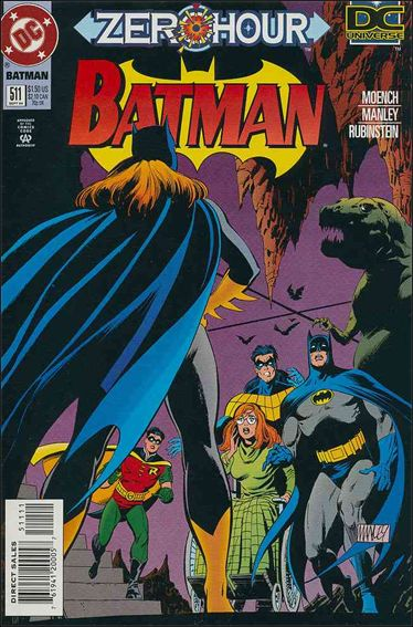 Batman (1940) 511-A by DC