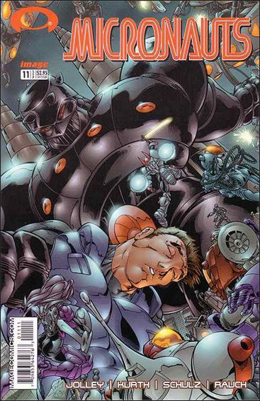 Micronauts (2002) 11-A by Image