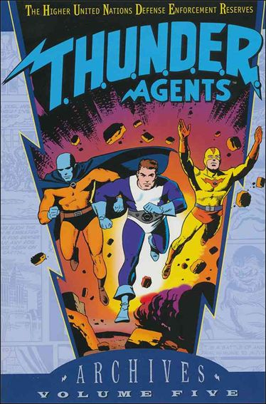 T.H.U.N.D.E.R. Agents Archives 5-A by DC